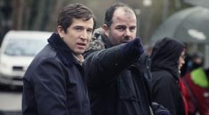 Guillaume Canet et Cédric Anger sur le tournage de