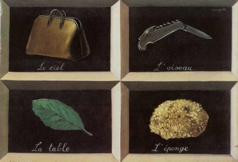 [Clio Team] 1927 Magritte La Clef des songes, 38x55 cm