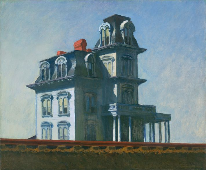 """House by the Railroad"" d'Edward Hopper"