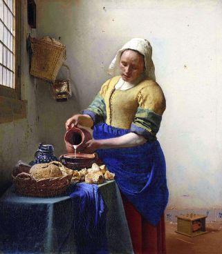 « La Laitière » de Johannes Vermeer (1657-1658)